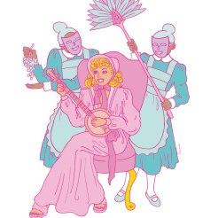 Illustration i tidskriften Galago
